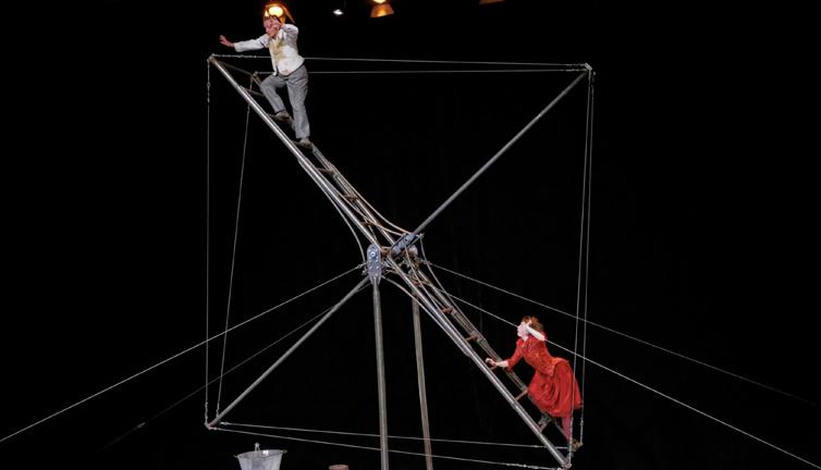 Akrobatik på Stændertorvet